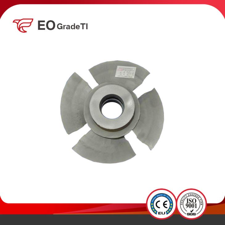 ASTM B367 GB/T 15073 Lost Wax Titanium Casting Impeller