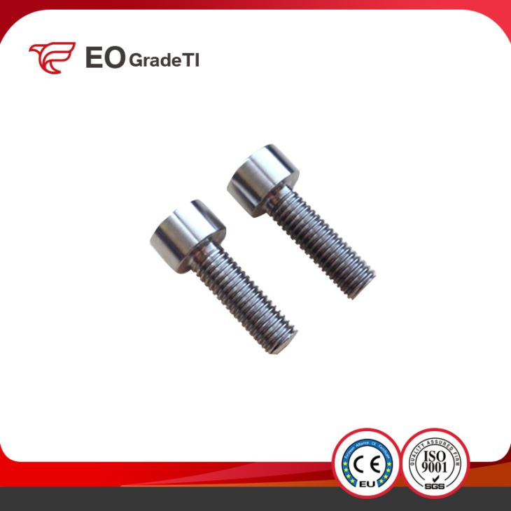 DIN912 CNC Precision Machined Titanium Cheese Head Screws