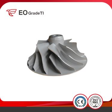 ASTM B367 GB/T 15073 OEM Titanium Alloy Casting Fan Impeller