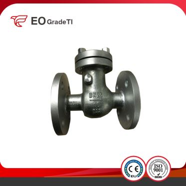 China Manufacturer Casted Titanium Threaded Welded Check Valve