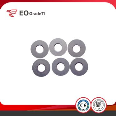 China Supplier DIN125 Titanium Flat Washers