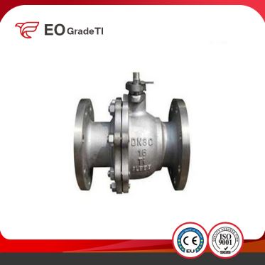 Floating Ball Titanium Ball Valve ASTM B367 Titanium Castings