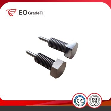 Gr1 Gr2 Gr5(Ti6al4v) Gr7 Gr9 Titanium Hex Head Bolts with Cone Point