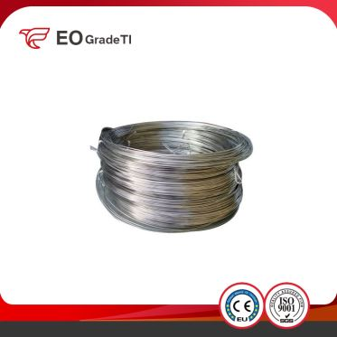 Gr5 Titanium Coiled Wire Heat Exchanger Ti Straight Wire