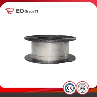 Gr9 Grade9 Titanium Straight Wire Coiled Wire