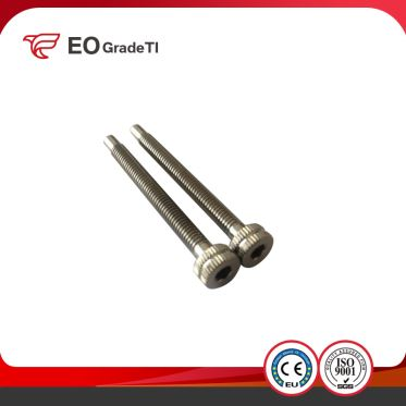 High Precision Titanium Knurled Head Screws