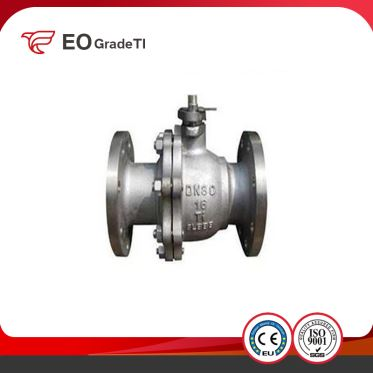 Manual Titanium Ball Valve with Limit Switch