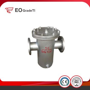 Precision Casting Titanium Pump for Chemical Industry Investment Casting Sand Casting