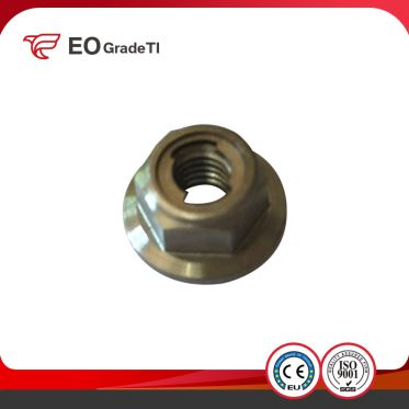 Titanium Hex Locking Nuts Titanium All Metal Prevaling Torque Type Hexagon Nuts