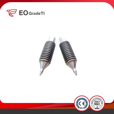 Titanium Hex Socket Set Screws with Cone Point