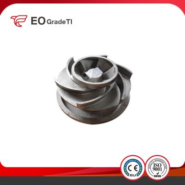 Titanium Impeller Submersible Pum Graphite Casting and Investment Casting