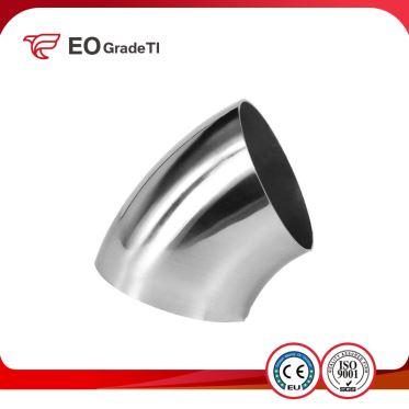 Grade 1 Titanium 45 Degree Elbows