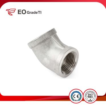 Grade 1 Titanium 90 Degree Elbows
