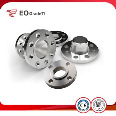 Grade 12 Titanium Slip On Flanges