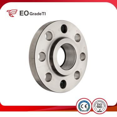 Grade 12 Titanium Threaded Flanges
