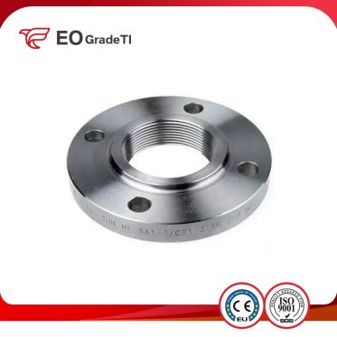 Grade 7 Titanium Threaded Flanges