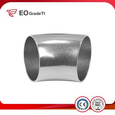 High Strength Titanium 90 Degree Elbows